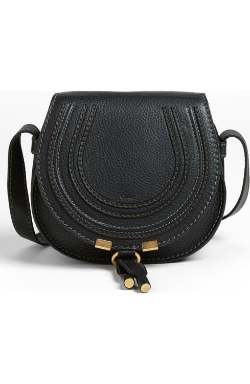 2fe3617fdd8 Chloé 'Mini Marcie' Leather Crossbody Bag | Nordstrom