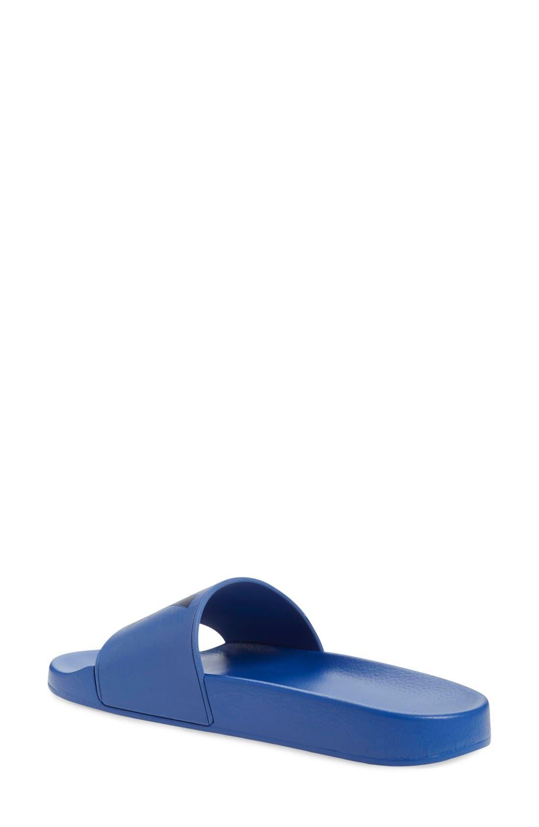 ,                             Logo Slide Sandal,                             Alternate thumbnail 14, color,                             400