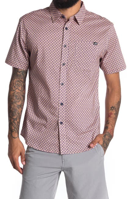 Image of ...Lost Puzzled Short Sleeve Woven Shirt