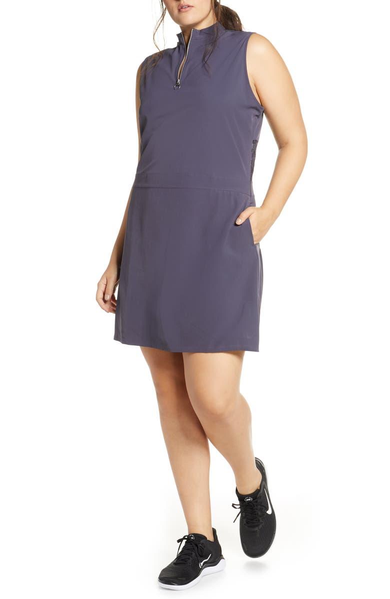 NIKE Dri-FIT Flex Golf Dress, Main, color, 015