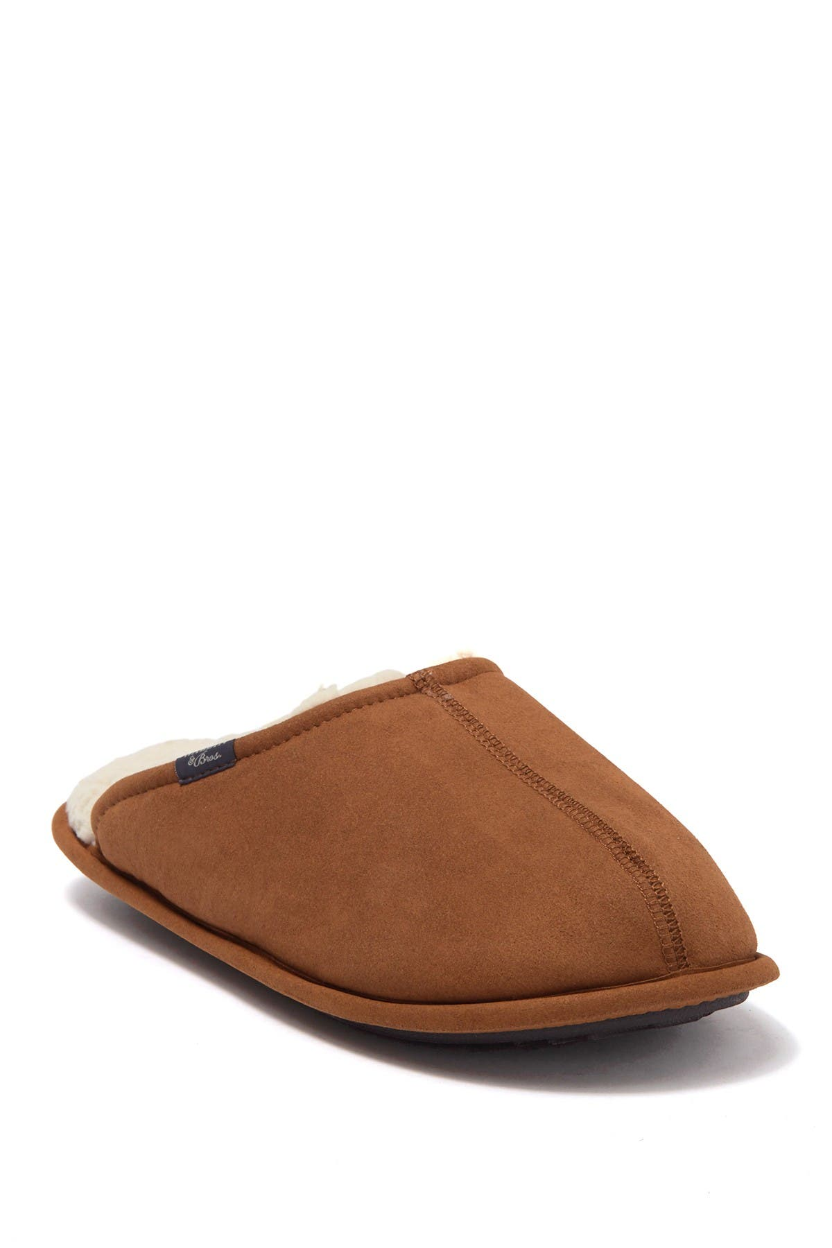 Image of WALLIN & BROS Cole Faux Fur Lined Slipper