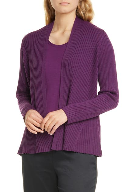 Eileen Fisher Tops Ribbed Cardigan