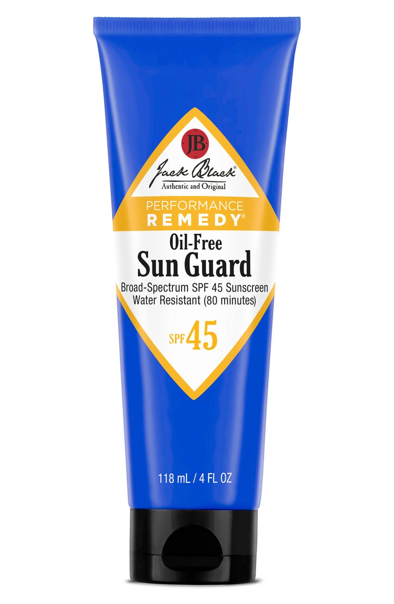 JACK BLACK Sun Guard Water Resistant Sunscreen SPF 45, Main, color, NO COLOR