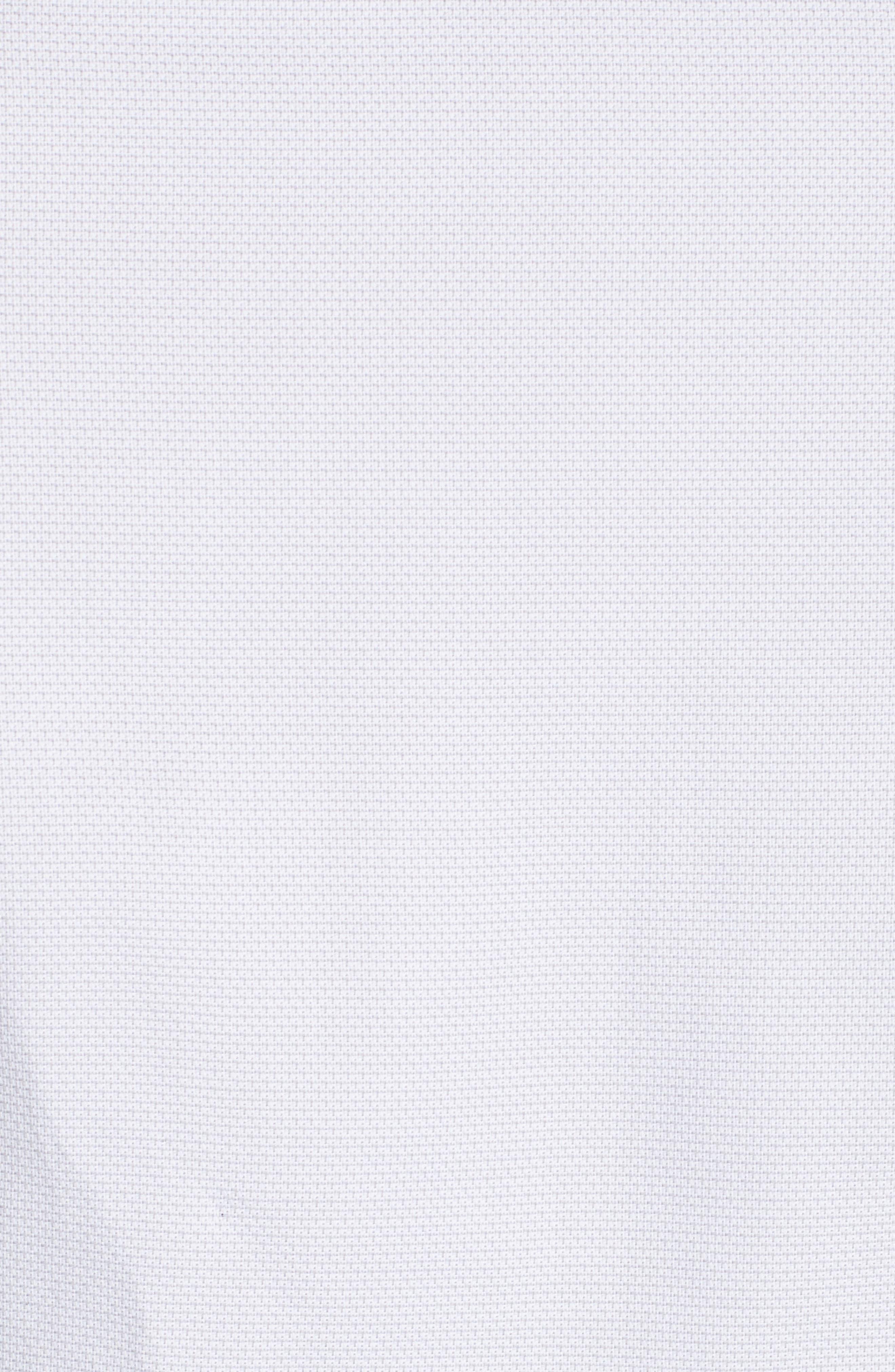 ,                             Regular Fit Solid Dress Shirt,                             Alternate thumbnail 5, color,                             SILVER