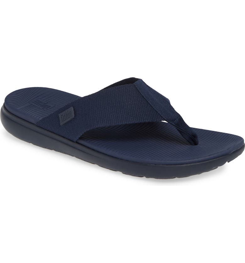 FITFLOP Lido II Flip Flop, Main, color, MIDNIGHT NAVY