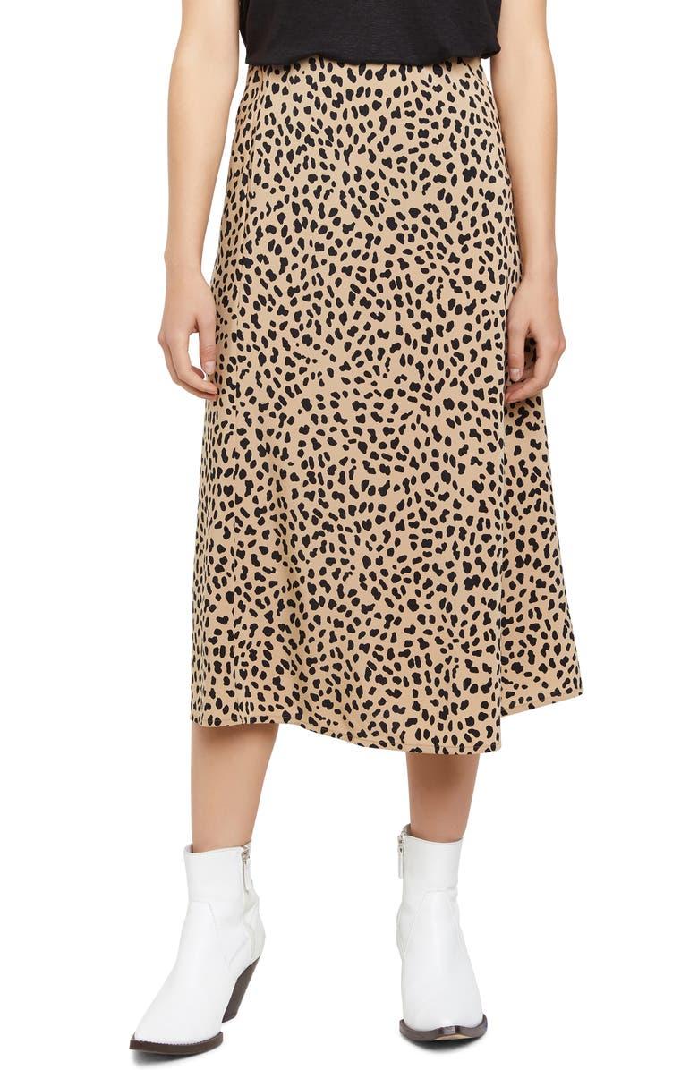 SANCTUARY Everyday Midi Skirt, Main, color, MODERN SPOTS