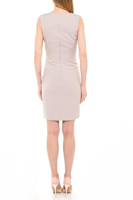 Image of Alexia Admor Kylie V-Neck Ruched Dress