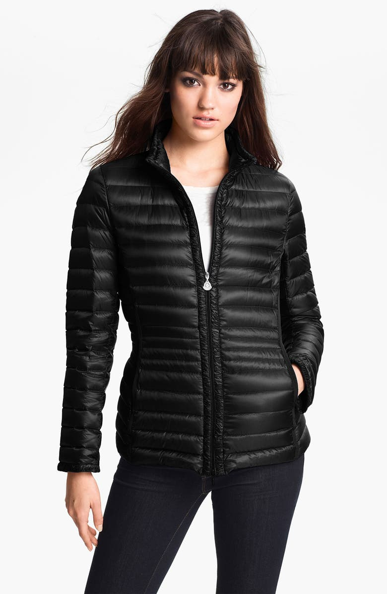 MONCLER 'Ire' Lightweight Down Jacket, Main, color, 001