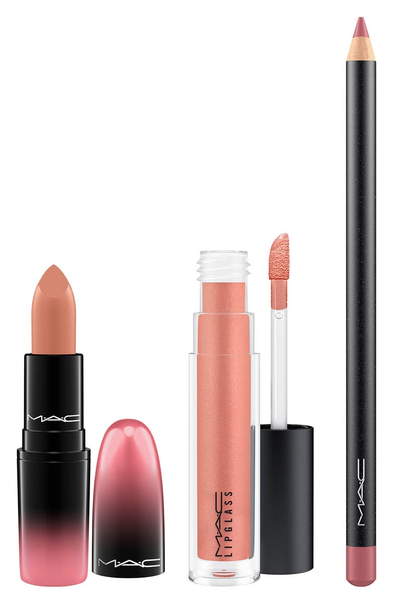 MAC COSMETICS MAC Love Me Lip Kit, Main, color, NEUTRAL