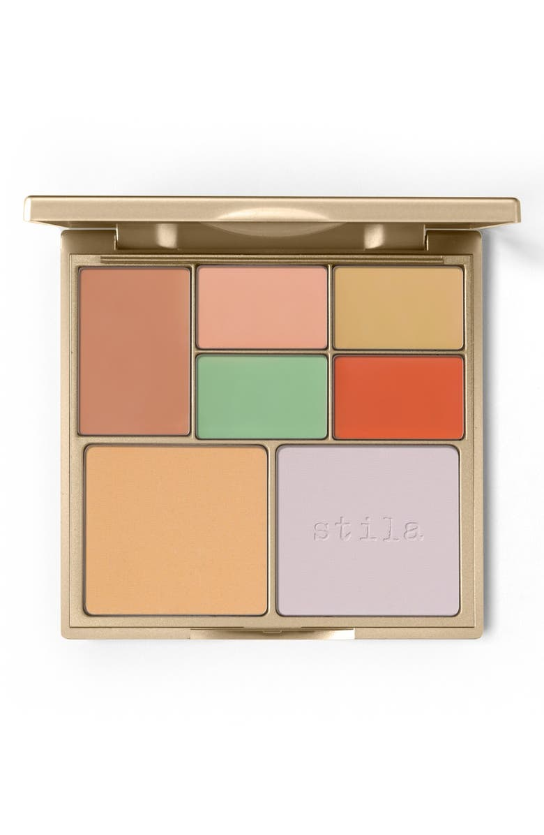 STILA Correct & Perfect All-in-One Color Correcting Palette, Main, color, NO COLOR