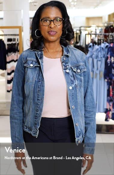 Faye Frayed Crop Jeans, sales video thumbnail