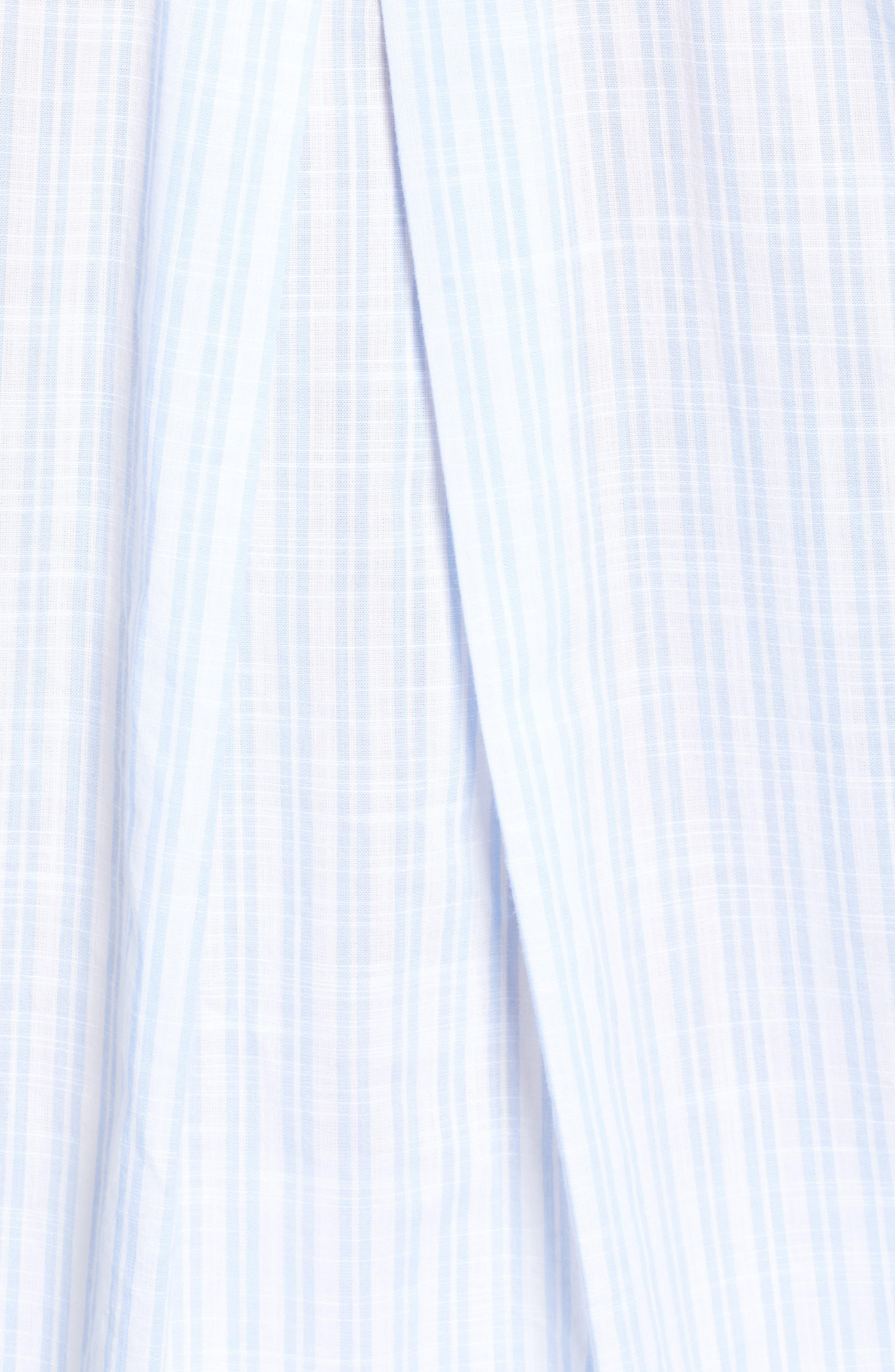,                             The Hero Washed Cotton Shirt,                             Alternate thumbnail 5, color,                             MARGARET BLUE STRIPE