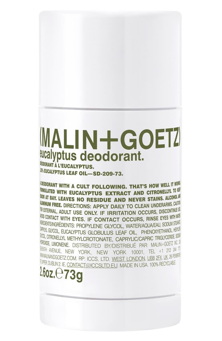 MALIN+GOETZ Eucalyptus Deodorant, Main, color, NO COLOR