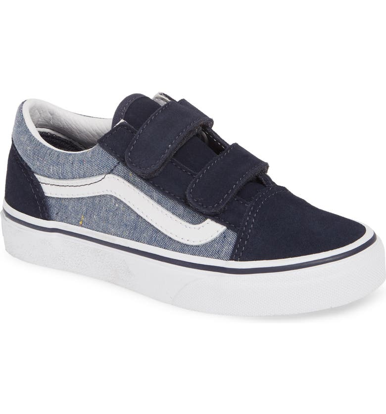 VANS Old Skool Skate Sneaker, Main, color, PARISIAN BLUE/ TRUE WHITE