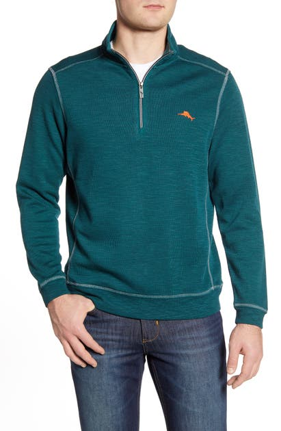 Tommy Bahama Tops TOBAGO BAY HALF ZIP PULLOVER