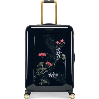 Ted Baker London Small Take Flight 27-Inch Wheeled Hard Shell Luggage - Black