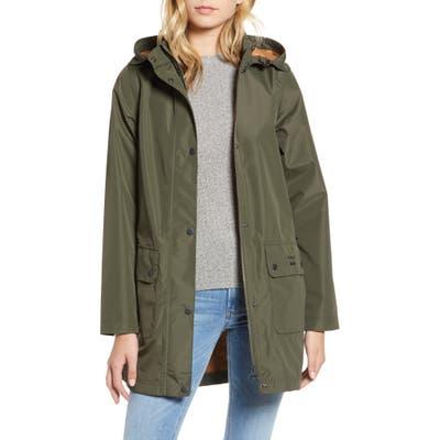 Barbour Inclement Waterproof Hooded Jacket, US / 10 UK - Green