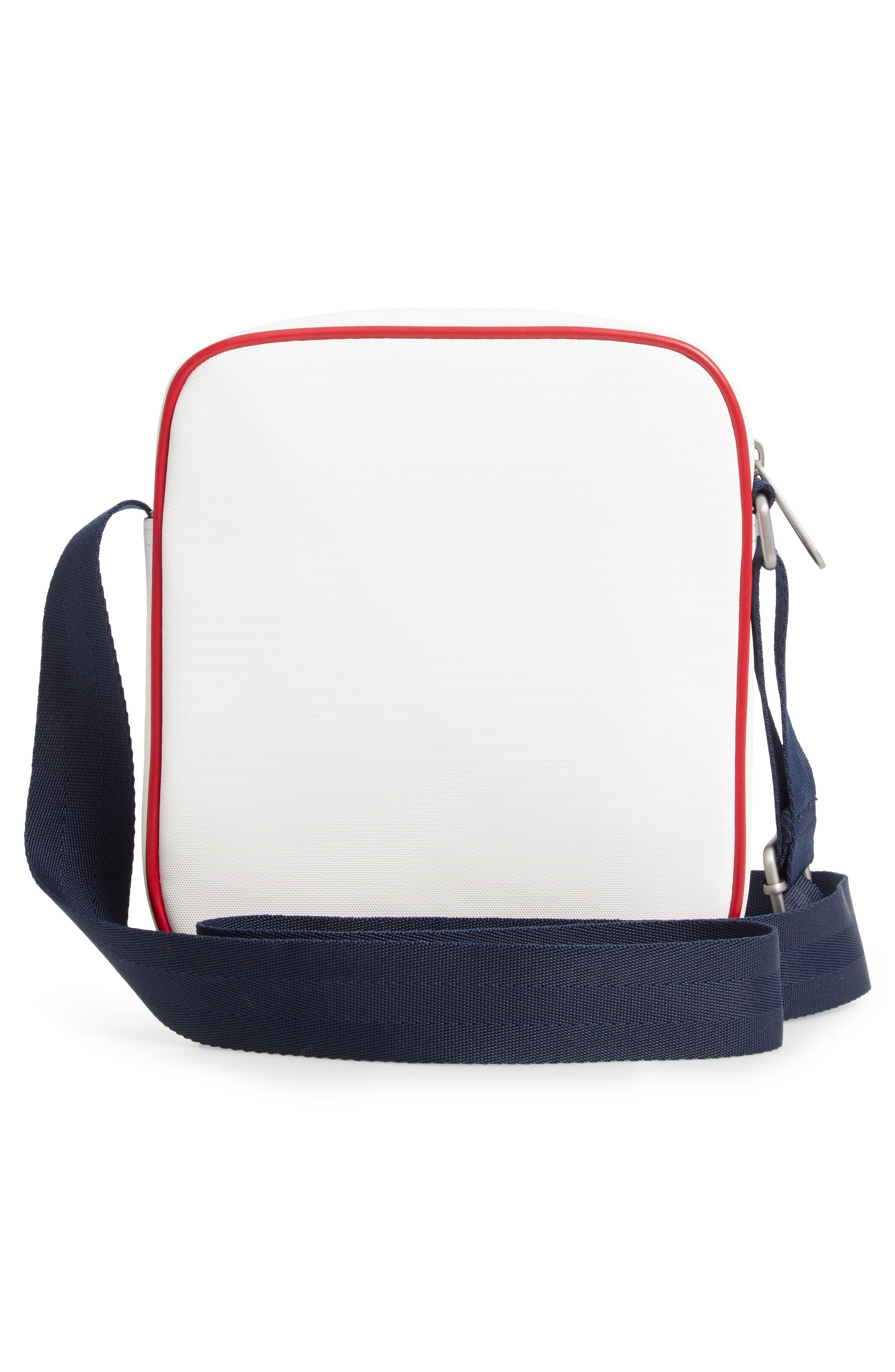,                             Modern Prep Reporter Mini Crossbody Bag,                             Alternate thumbnail 4, color,                             CLASSIC WHITE
