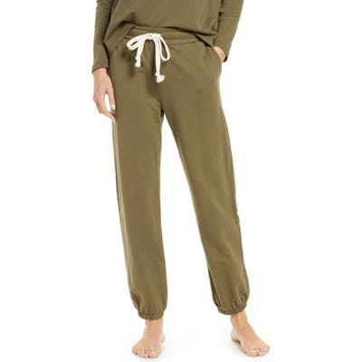 Madewell Pajama Sweatpants, Green