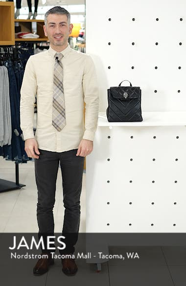 Small Kensington Leather Backpack, sales video thumbnail