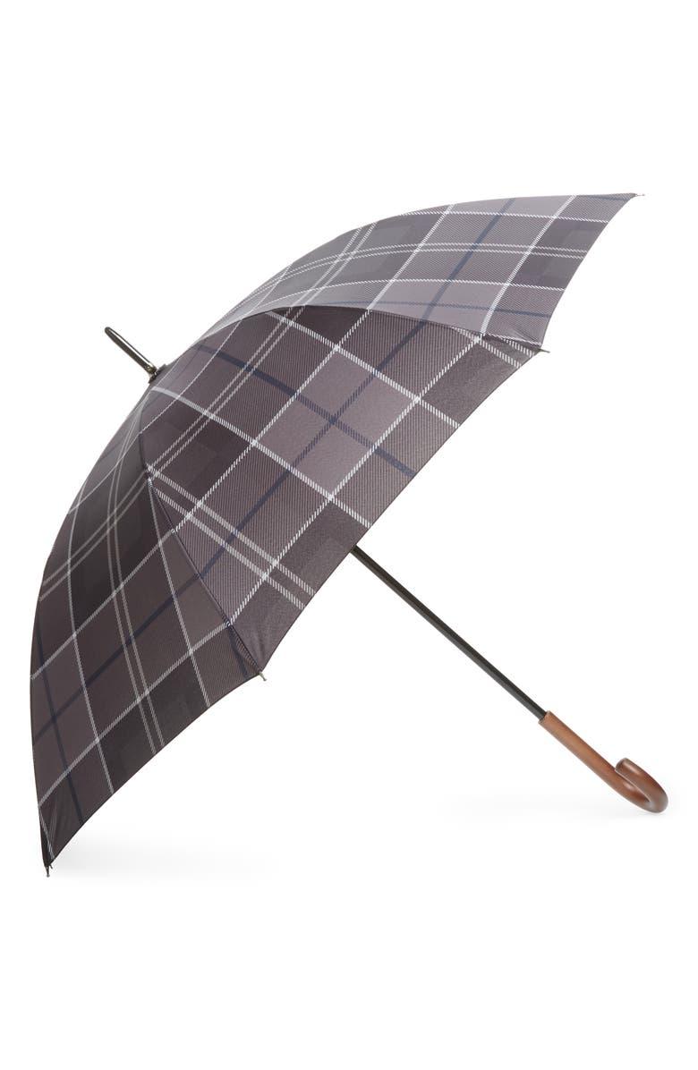 BARBOUR Tartan Walker Umbrella, Main, color, 001