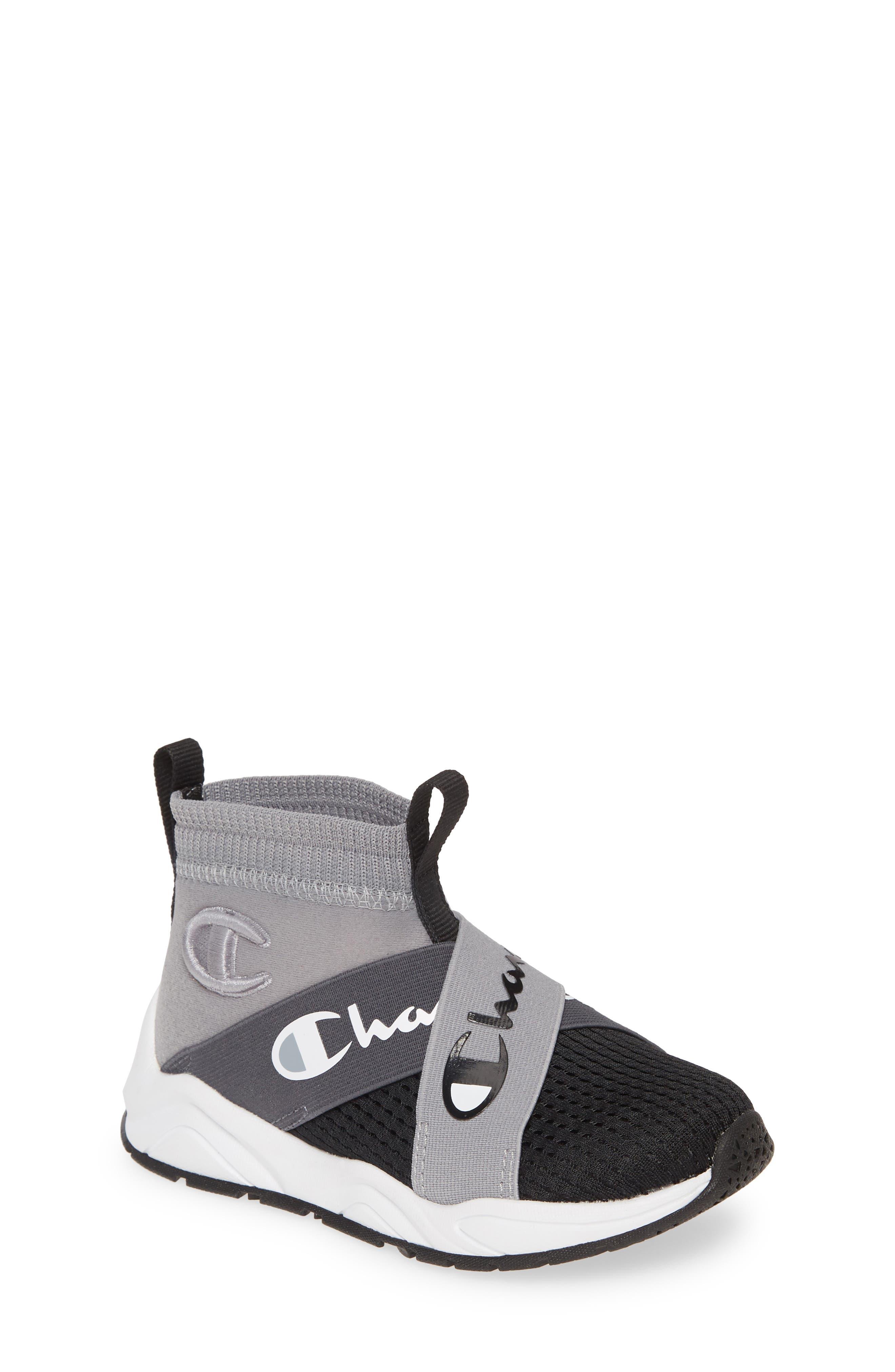Champion Rally Crossover High Top Sock Sneaker (Big Kids