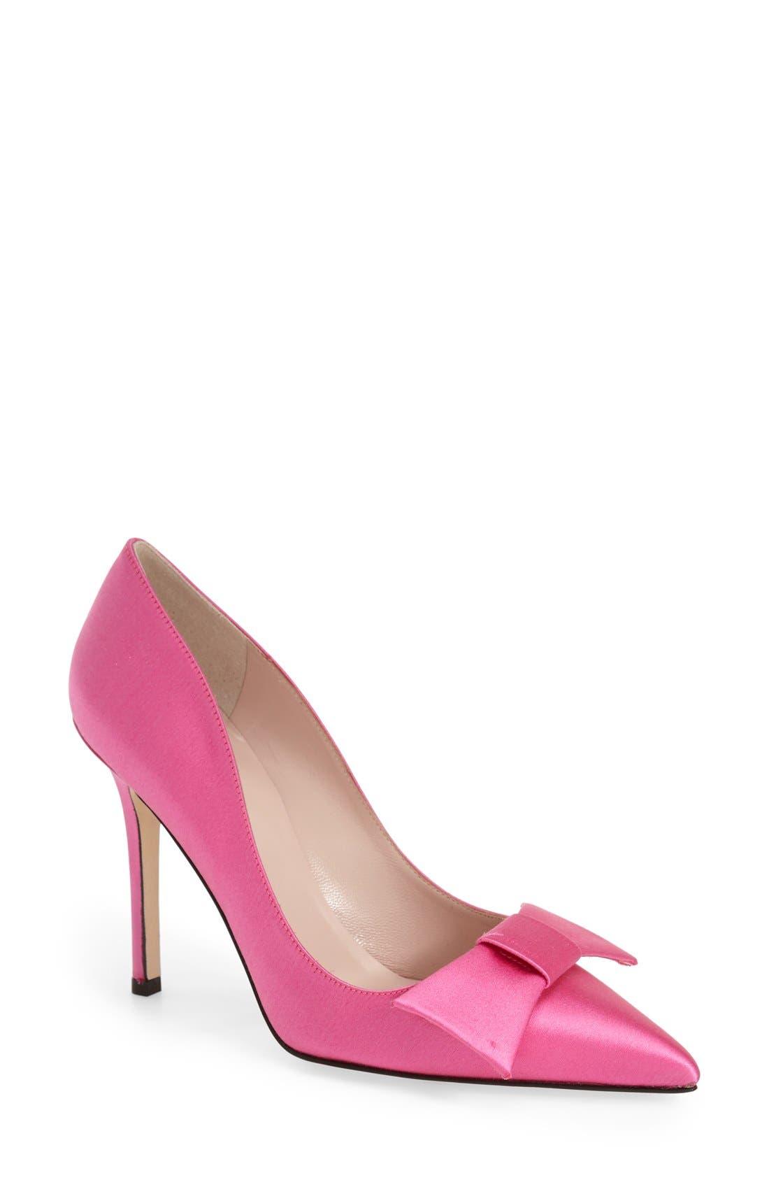 ,                             'layla' pointy toe pump,                             Main thumbnail 9, color,                             653