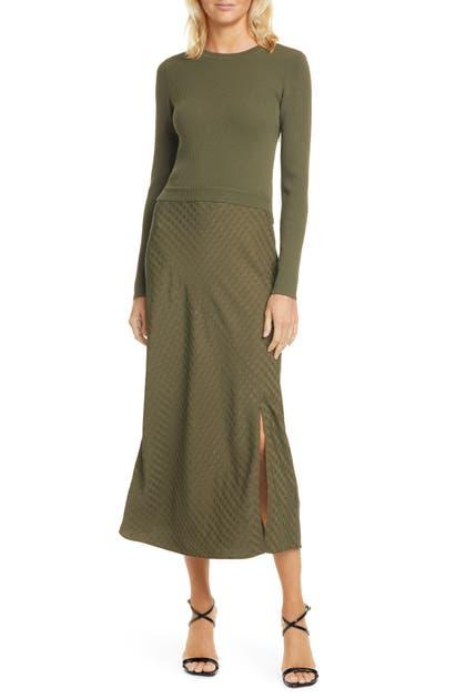 Ted Baker Dresses JOOWANI LONG SLEEVE MIDI DRESS