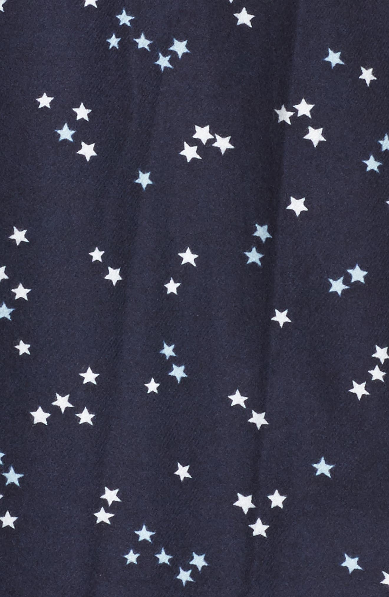 ,                             Lingerie Starlight Flannel Pajamas,                             Alternate thumbnail 53, color,                             401