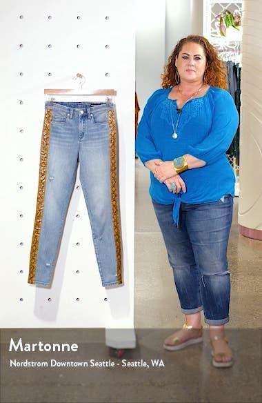 The Bond Snake Stripe Skinny Jeans, sales video thumbnail
