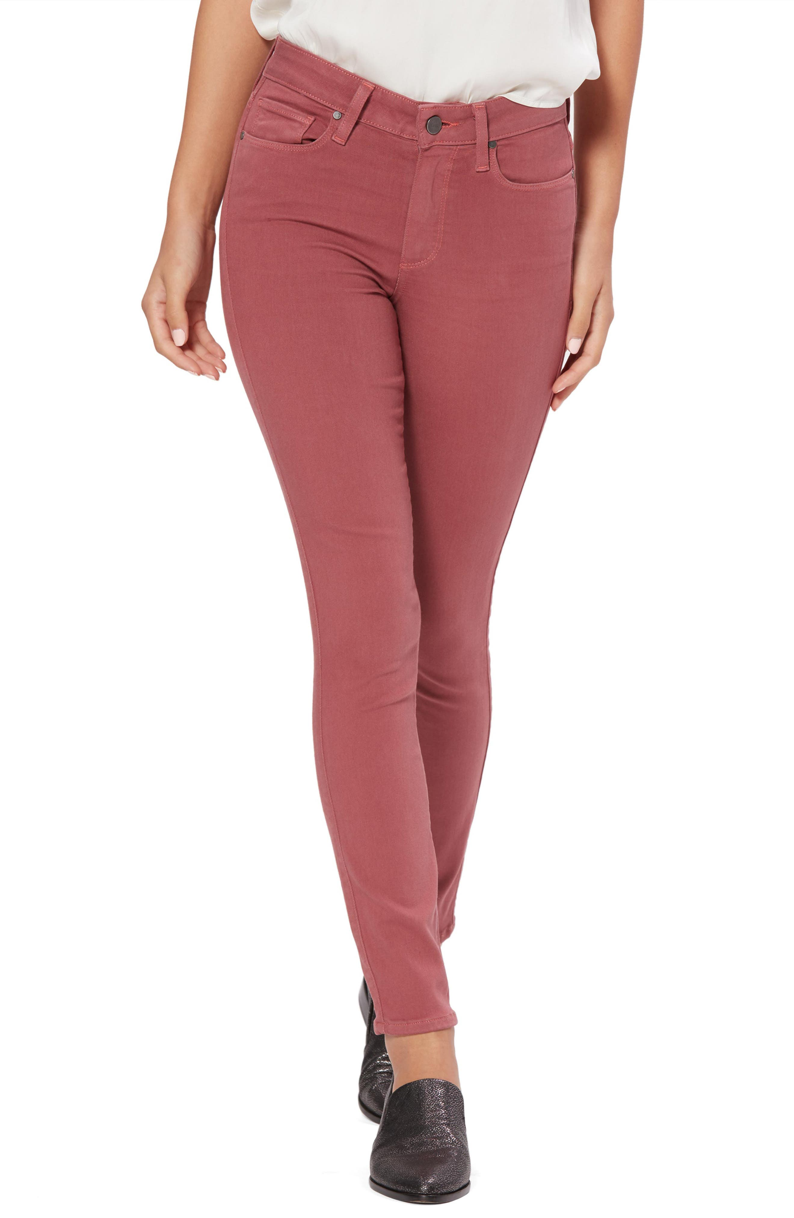 Paige TRANSCEND- HOXTON HIGH WAIST ANKLE SKINNY JEANS
