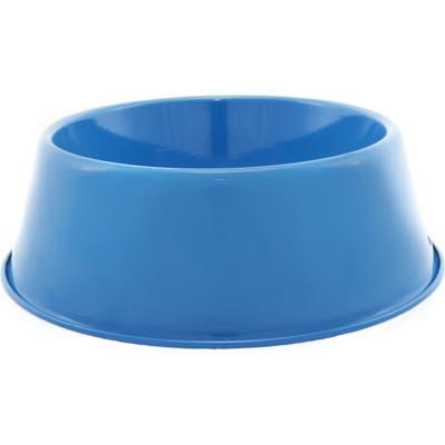 Harry Barker Enamelware Dog Bowl, Blue