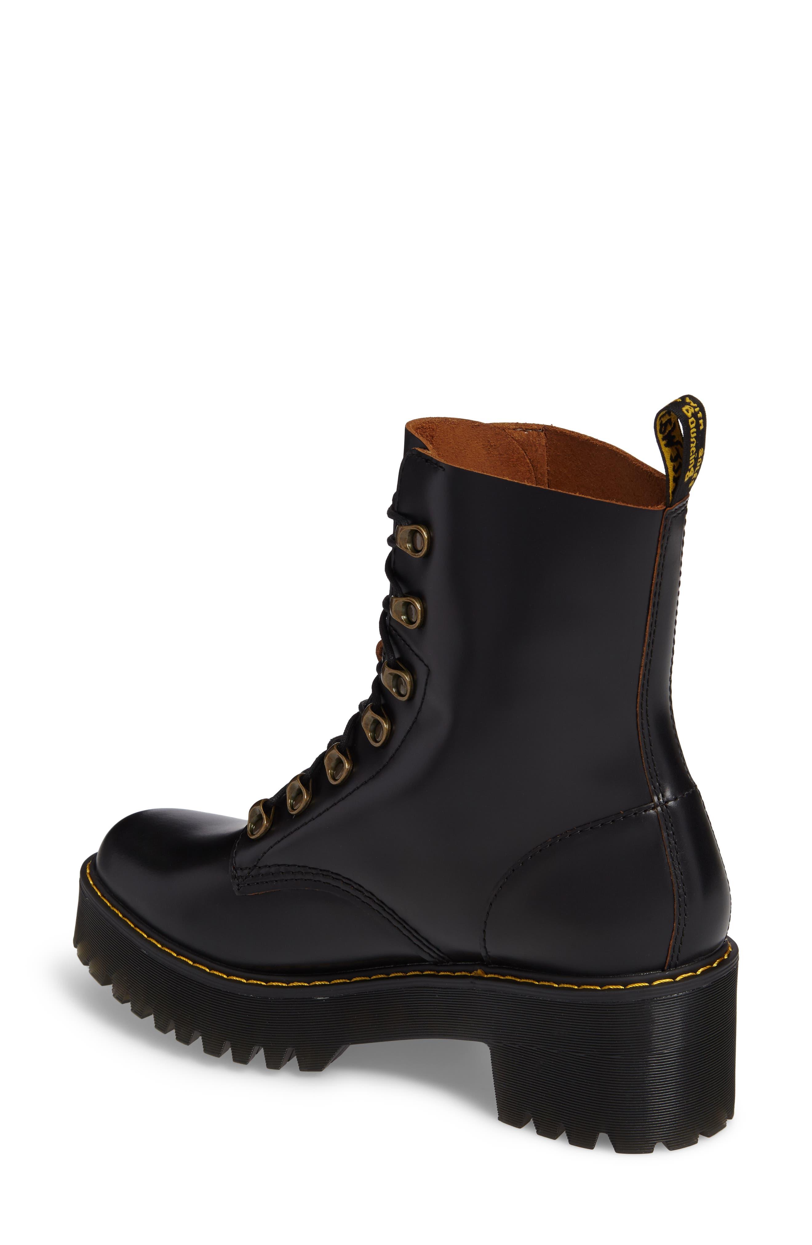,                             Leona Heeled Boot,                             Alternate thumbnail 2, color,                             001