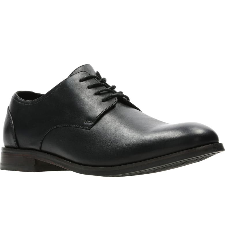 CLARKS<SUP>®</SUP> Flow Plain Toe Derby, Main, color, 003