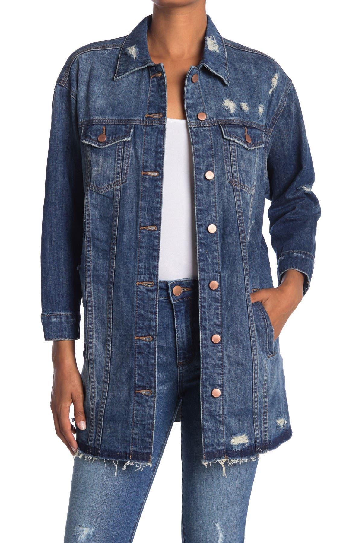 STS BLUE Oversized Boyfriend Denim Jacket