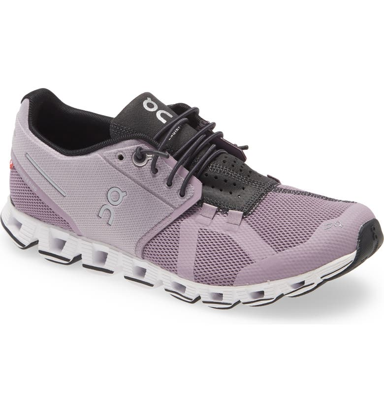 ON Cloud Running Shoe, Main, color, LILAC/ BLACK