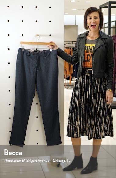 Slim Fit Diamond Weave Pants, sales video thumbnail