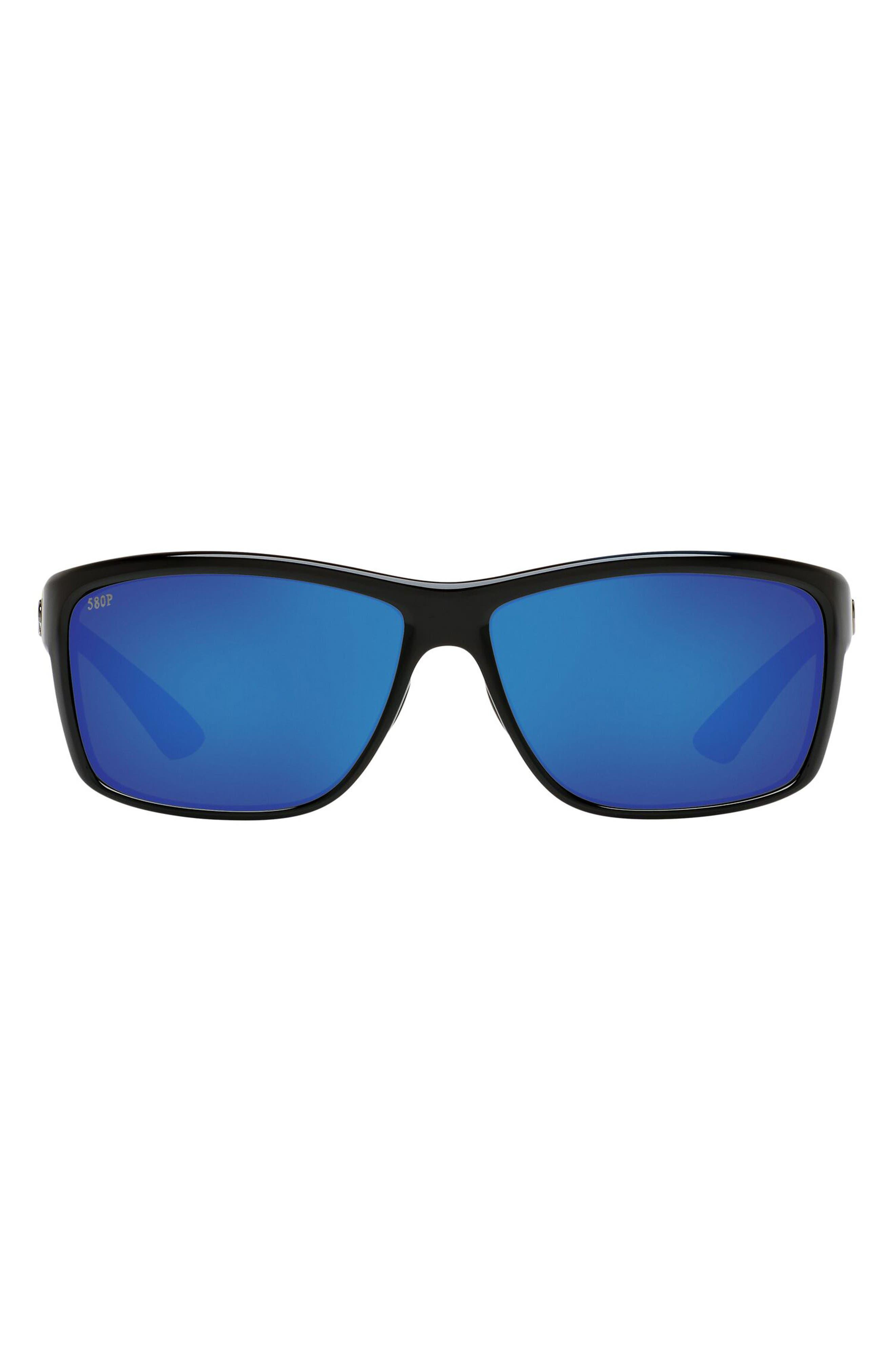 63mm Rectangle Sunglasses