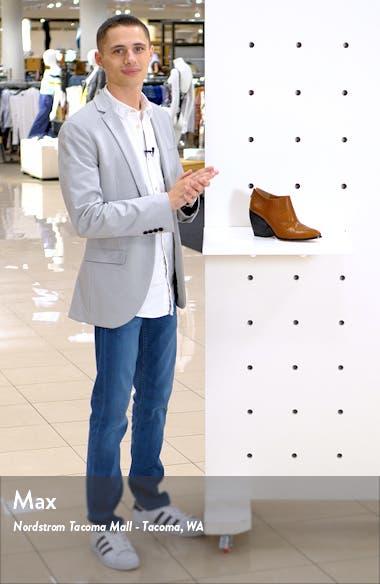 Kieran Genuine Calf Hair Bootie, sales video thumbnail