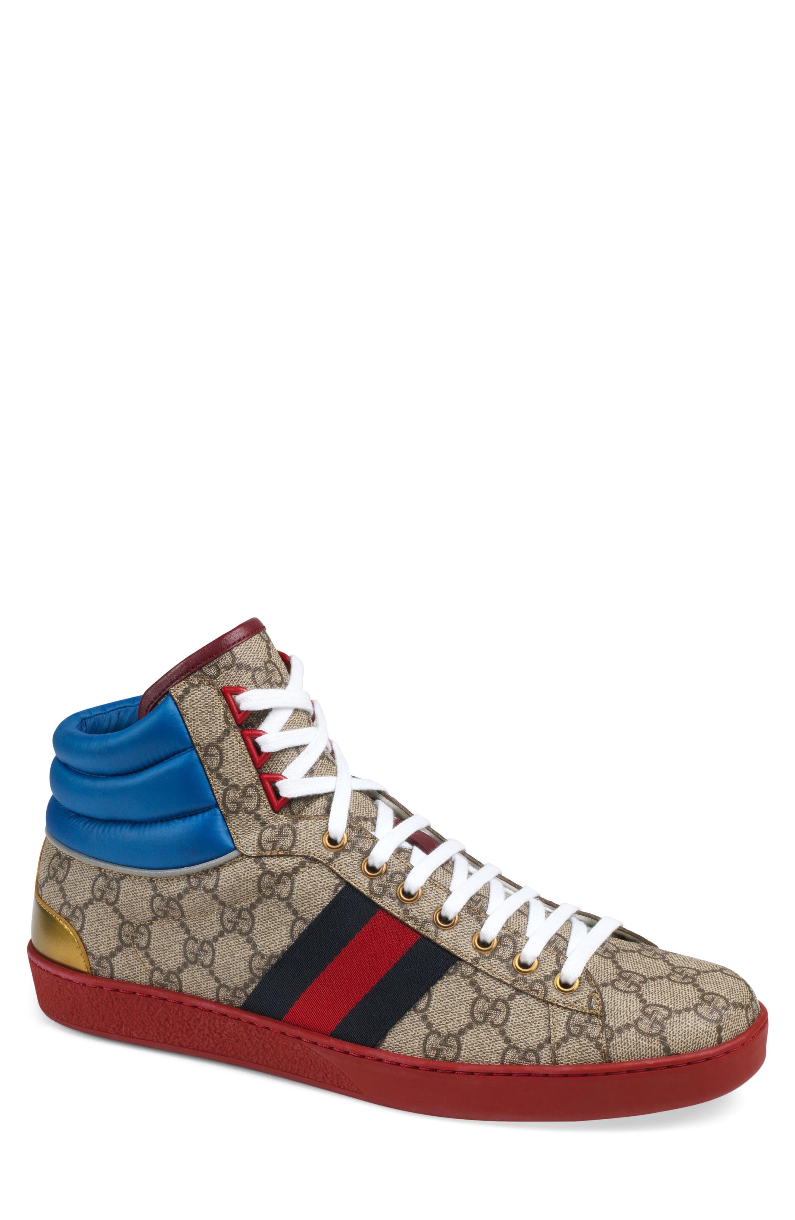 Gucci New Ace High Sneaker (Men
