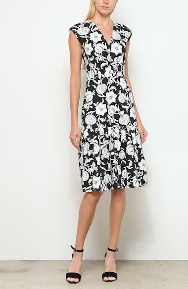 Floral Pleated Hem Dress, video thumbnail