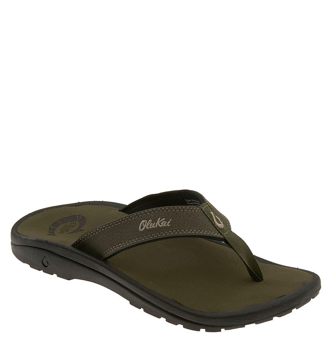 Men's Olukai 'Ohana' Flip Flop, Size 15