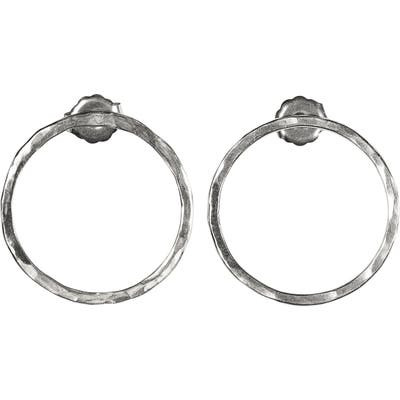 Nashelle Faceted Bubble Post Earrings