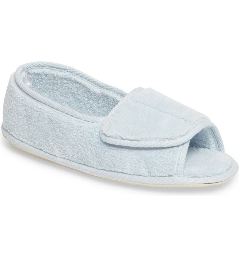 DANIEL GREEN Tara II Slipper, Main, color, BLUE FABRIC
