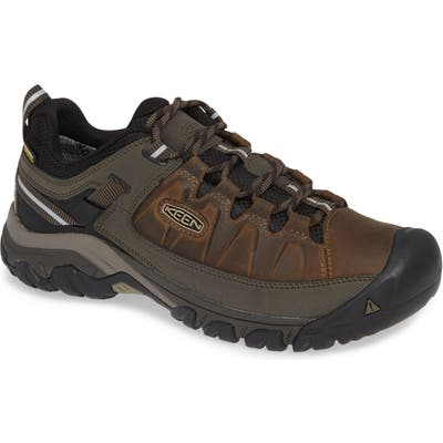 Keen Targhee Iii Waterproof Wide Hiking Shoe, Brown