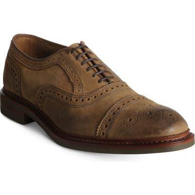 Allen Edmonds Strandmok Cap Toe Oxford, Brown