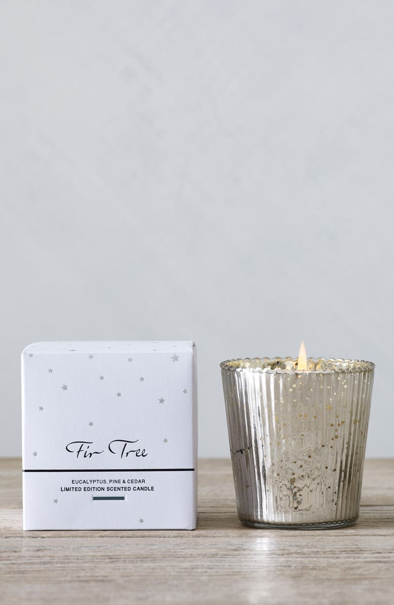 THE WHITE COMPANY Fir Tree Candle, Main, color, WHITE