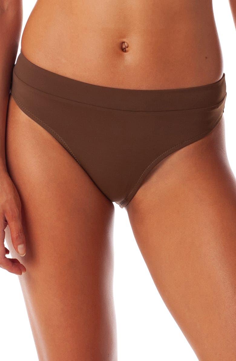 RHYTHM Islander Xanadu High Cut Bikini Bottoms, Main, color, CEDAR