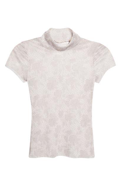 Free People T-shirts PRINT MESH BABY T-SHIRT