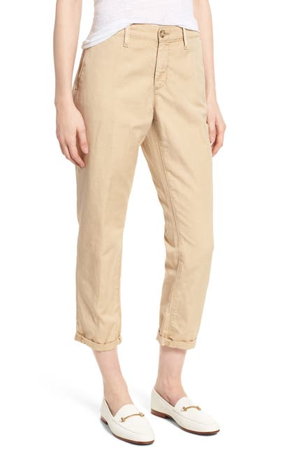 Image of AG Caden Crop Twill Trousers